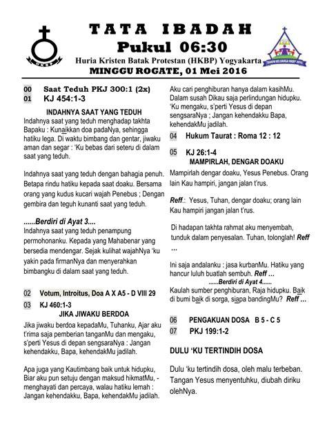 Chapter 59 2 minggu ago. Votum Natal Sekolah Minggu Bahasa Batak - Susunan Acara ...