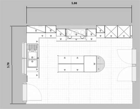 plan cuisine avec ilot meuble cuisine plaque cuisson meuble cuisine plaque