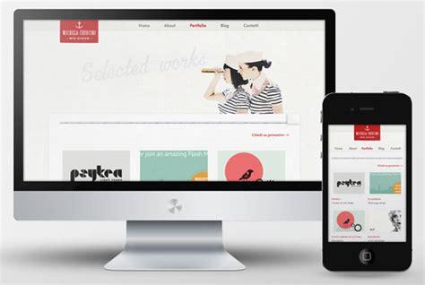 web design portfolio 35 beautiful responsive portfolio websites