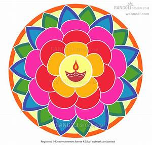 diya rangoli design for diwali by webneel 7 - preview