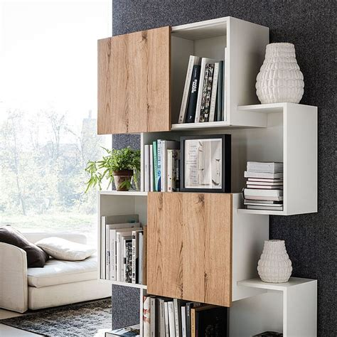 Modern Bookshelf by 4 Awesome Bookcase Designs For The Trendy Modern Home