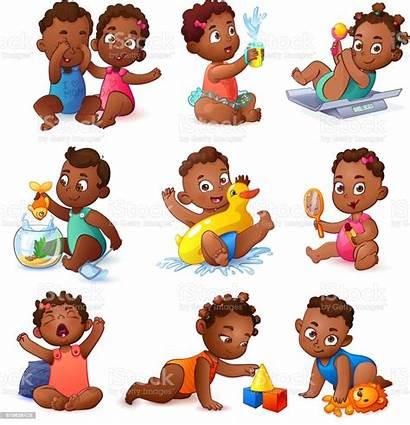 African American Boy Children Boys Clipart Vector