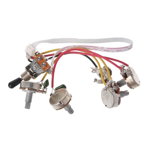 Aliexpress Buy Electric Guitar Wiring Harness Kit