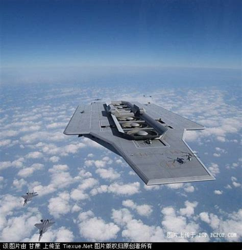 Futuristic Concept Aircraft Carriers