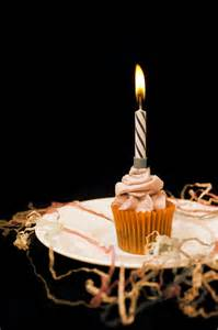 cupcake  candle photo