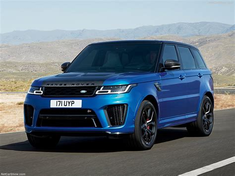 Land Rover Range Rover Backgrounds by 2018 Land Rover Range Rover Sport Svr Wallpapers Pics