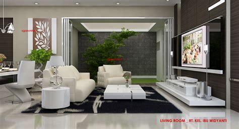 design interior rumah nuansa alam arcadia desain