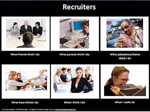 Recruitment Consultant Cover Letters From The Desk Of A Recruiter Meme What I Really Do