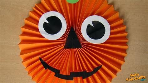 paper pumpkin halloween decorations youtube