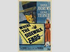 FilmFanaticorg » Where the Sidewalk Ends 1950