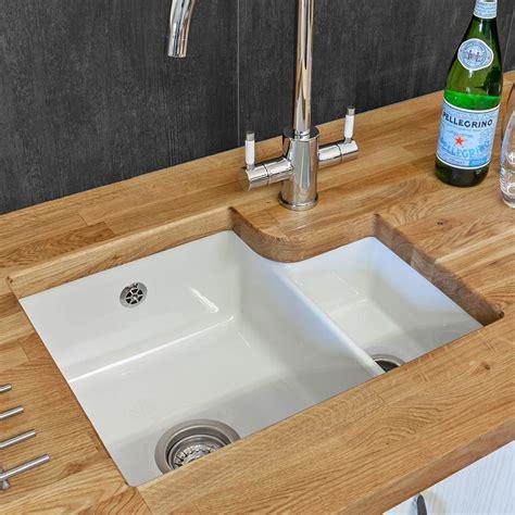 Bowl Undermount Kitchen Sink by Reginox Tuscany 1 5 Bowl Ceramic Sink Sinks Taps