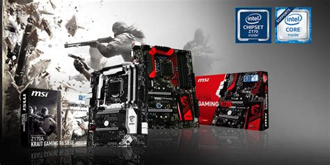 siege gamer pc msi z170a krait gaming r6 siege motherboard announced in