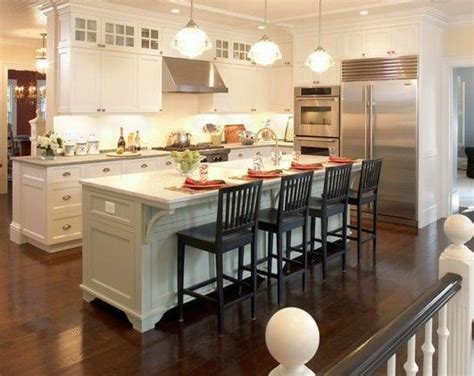 decorative kitchen islands image result for narrow kitchens with wrap around islands
