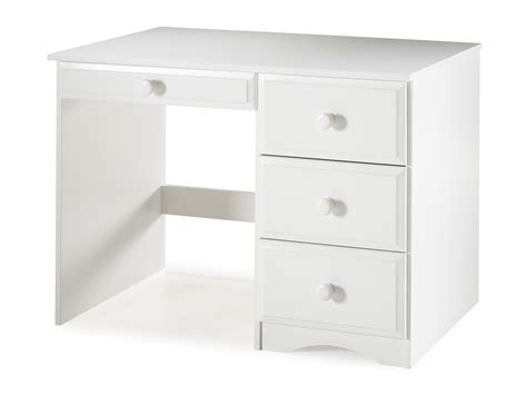 white writing desk with drawers essentials writing desk with four drawers white finish