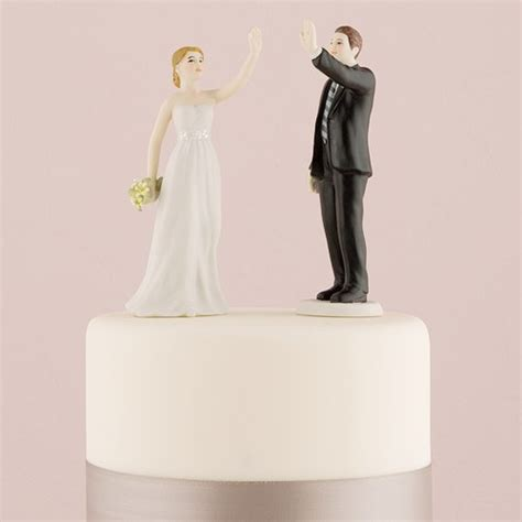 high five wedding cake topper high five and groom cake topper the knot shop