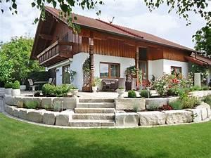 Gartengestaltung Mit Natursteinen : treppen und wege bruckmeier garten und landschaftsbau ~ Markanthonyermac.com Haus und Dekorationen