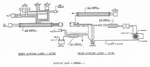 Dixon Ztr 429  1993  Parts Diagram For Wiring Assembly