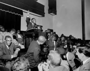 Martin Luther King Jr Montgomery Bus Boycott