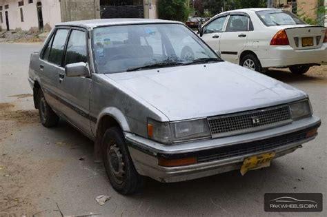 toyota corolla dx saloon 1986 for sale in karachi pakwheels