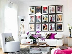 Wandgestaltung Mit Fotos : 24 bild wandgestaltung mit eigenen fotos ~ Frokenaadalensverden.com Haus und Dekorationen