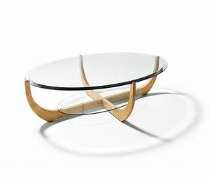 17 Ways To Have A Stunning Look Of Oval Glass Coffee Table