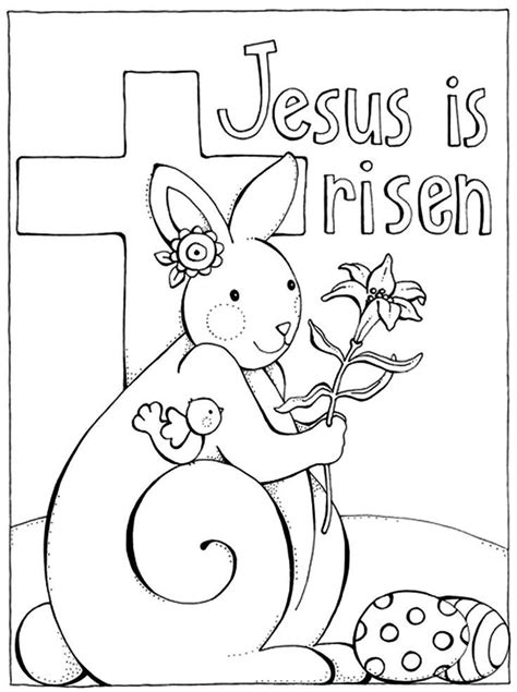jesus  risen coloring page coloring home