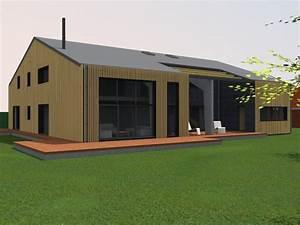 Renovation Hangar En Habitation : transformation d 39 un hangar en loft bois grenier ~ Nature-et-papiers.com Idées de Décoration