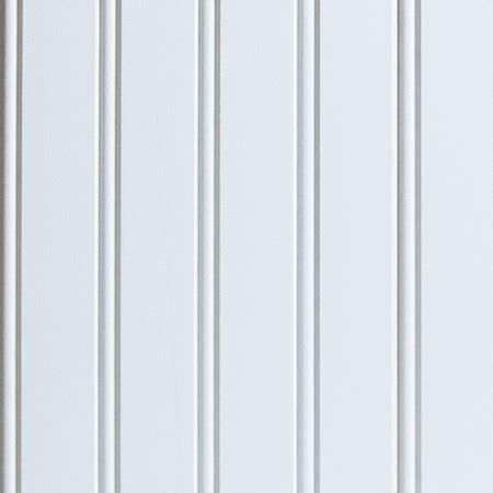 True White Beadboard Wall Panel
