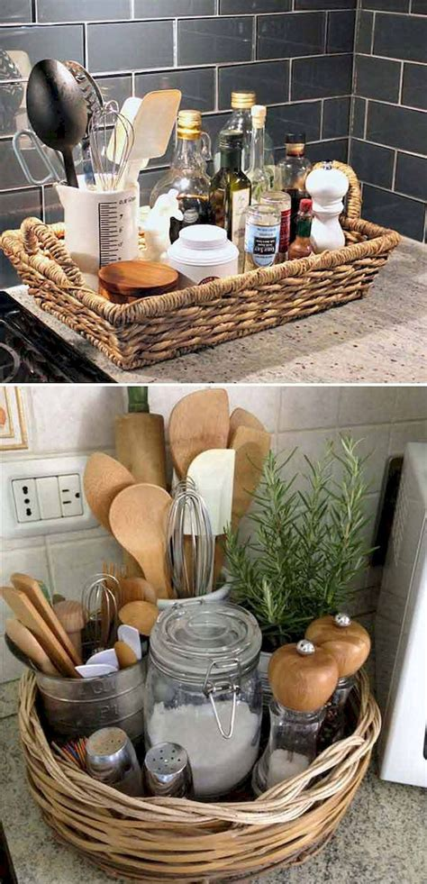 18+ Comely Kitchen Counter Decor