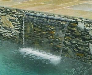 Wasserfall Für Pool : magicfalls wasserf lle als wasserattraktion f r ihren pool ~ Michelbontemps.com Haus und Dekorationen