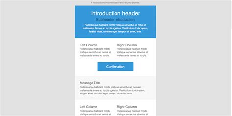 email template html 20 free responsive html email templates