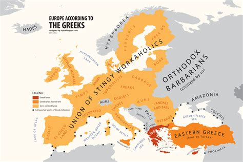 It's All Greek To Me: How the Europeans see Each Other