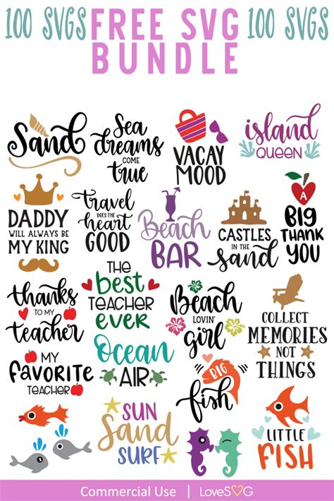 Svg cut files are a graphic type that can be scaled to use with the silhouette cameo or cricut. FREE SVG Bundle | Commercial License | Lovesvg.com ...