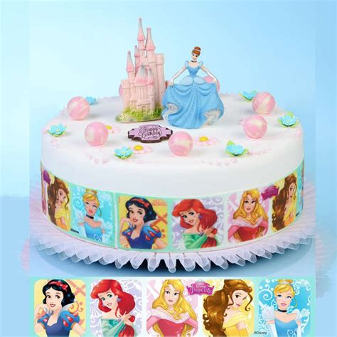 decoration gateau princesse pate  sucre