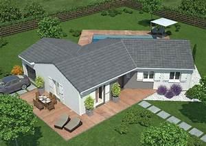 recherche modele de maison lot et garonne 47 ma future With delightful plan maison en pente 2 exemples de plans de maisons en corse