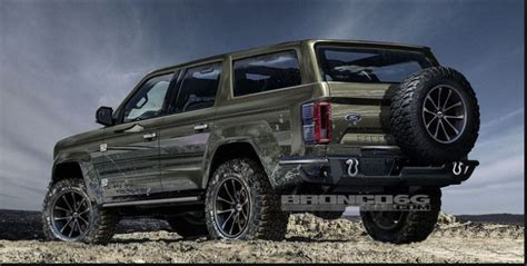 ford bronco convertible towing capacity release date