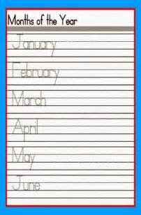 Free Printable Kindergarten Writing Worksheets