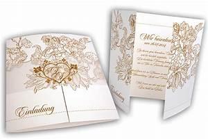Einladungskarten Für Hochzeit : altarfalz hochzeitseinladung mit hochzeitsmonogramm ~ Yasmunasinghe.com Haus und Dekorationen