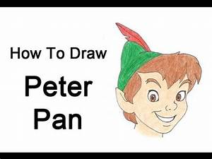 How to Draw Peter Pan - YouTube