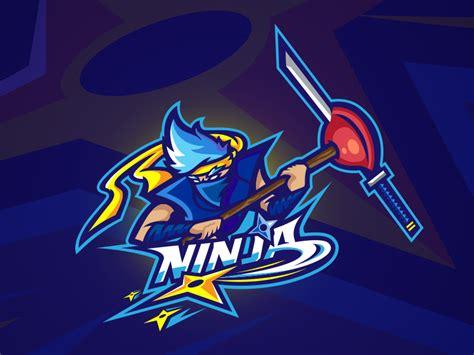 ninja logo  mike dribbble dribbble