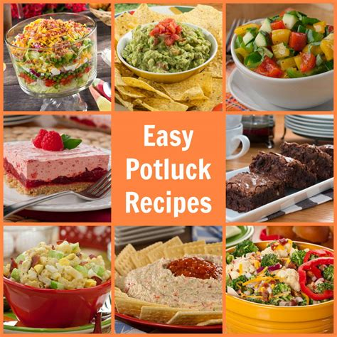 easy potluck recipes  potluck ideas mrfoodcom