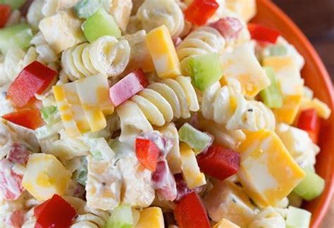la meilleure recette de salade de p 226 tes cr 233 meuse au fromage cheddar