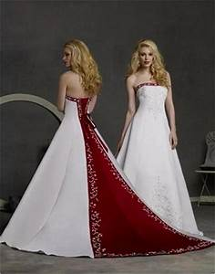 red and white wedding dresses all dress With wedding dresses with red in them