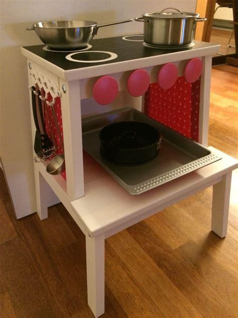 Kinderküche Aus Ikea Möbeln by Kinderk 252 Che Aus Ikea Hocker Fionas Zimmer