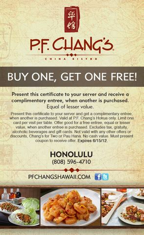 2015 P.F. Changs Coupon Codes | Printable Coupons Online