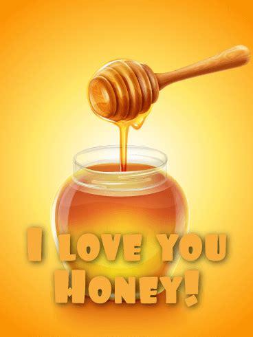 honey funny love card birthday greeting cards  davia