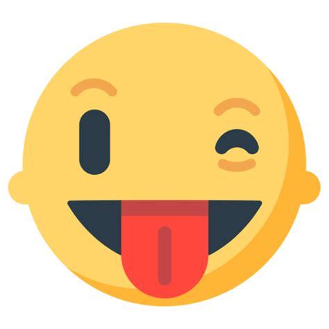 foto de Faccina Che Fa L occhiolino E Mostra La Lingua Emoji