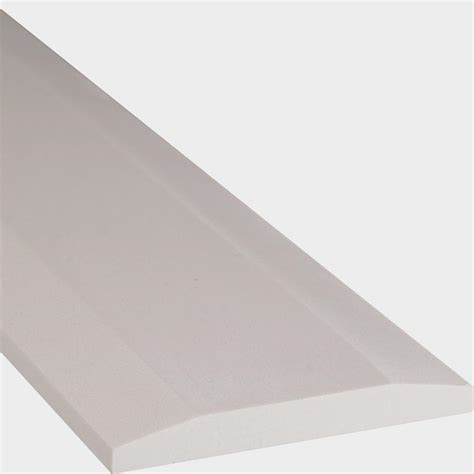 marble threshold tile msi white double hollywood 5 in x 36 in engineered marble threshold floor and wall tile