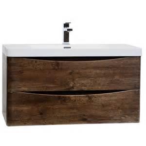 kitchen wall mount faucets buy merida 35 5 quot wall mount bathroom vanity in rosewood tn