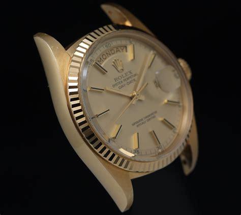 Rolex Daydate 1803 18k Rare 5 Minutes Track Dial Circa